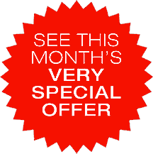 This Month's Very Special Offer