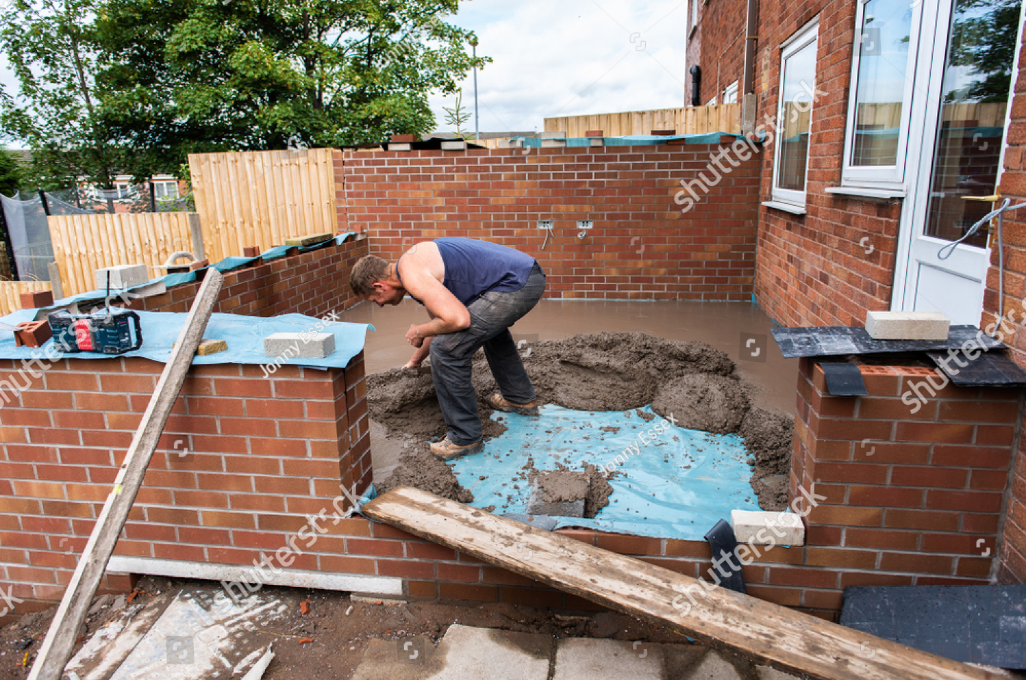 Conservatory Building Works